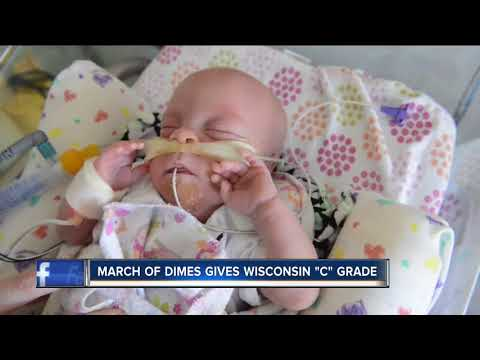 Wisconsin's premature birth rate rises again