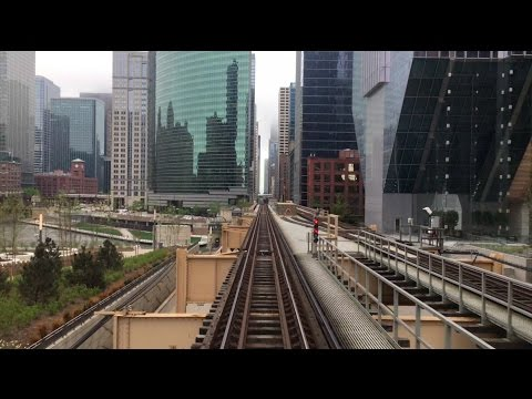 The Quick Chicago Loop Tour from above