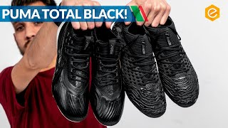 PACK TOTAL BLACK con PUMA ECLIPSE - Future 19.1 e ONE 19.1