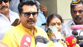 Sarath : Puli IT Raid Should Be Avoided At the Time of Movie Release | Nadigar Sangam Election