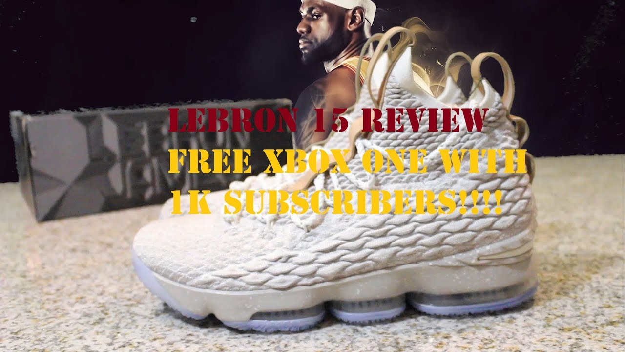 352c36662b3 Lebron 15 Ghost Shoe Review and Discussion On Colorways - YouTube