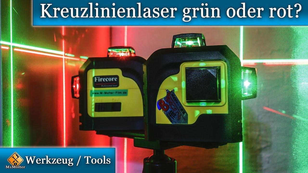 16 Linie 3D Grün Laser Linienlaser Baulaser Kreuzlaser Kreuzlinienlaser 360°