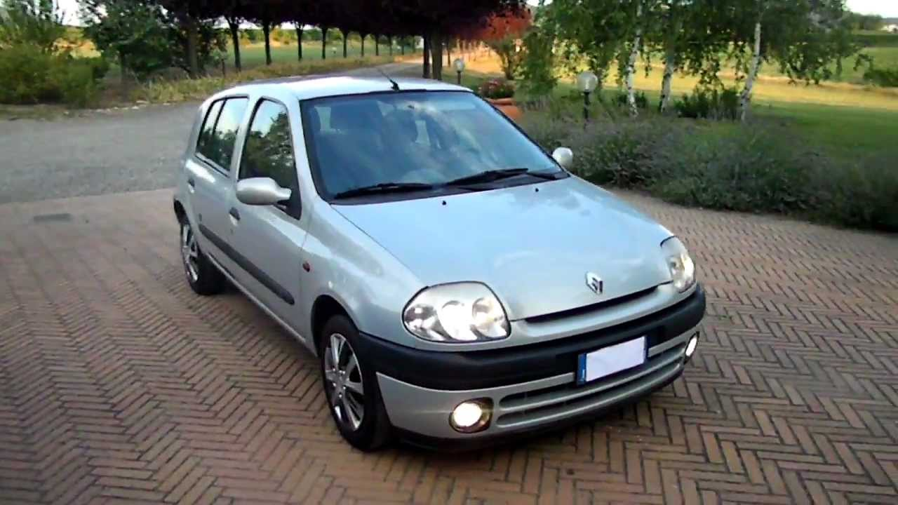 sam 2398 renault clio 1 4 5 porte mtv full opt 79000 km 00. Black Bedroom Furniture Sets. Home Design Ideas