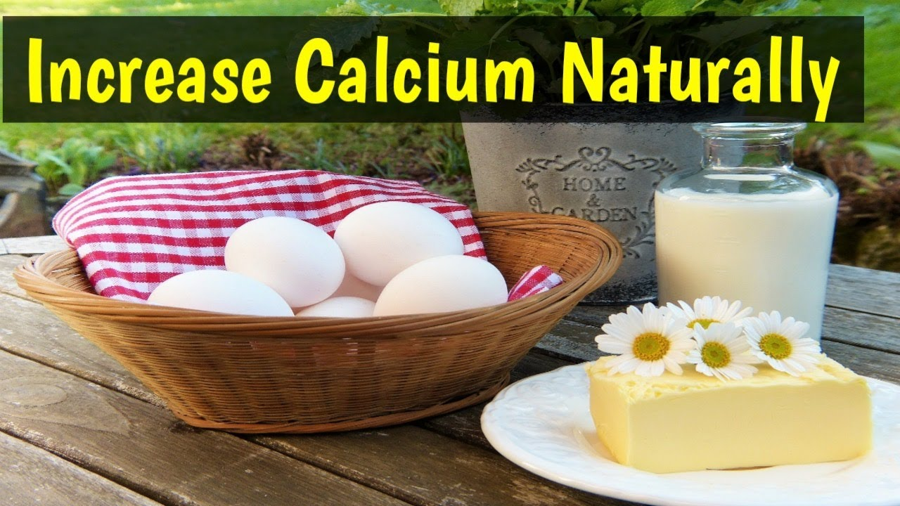 how to get calcium naturally