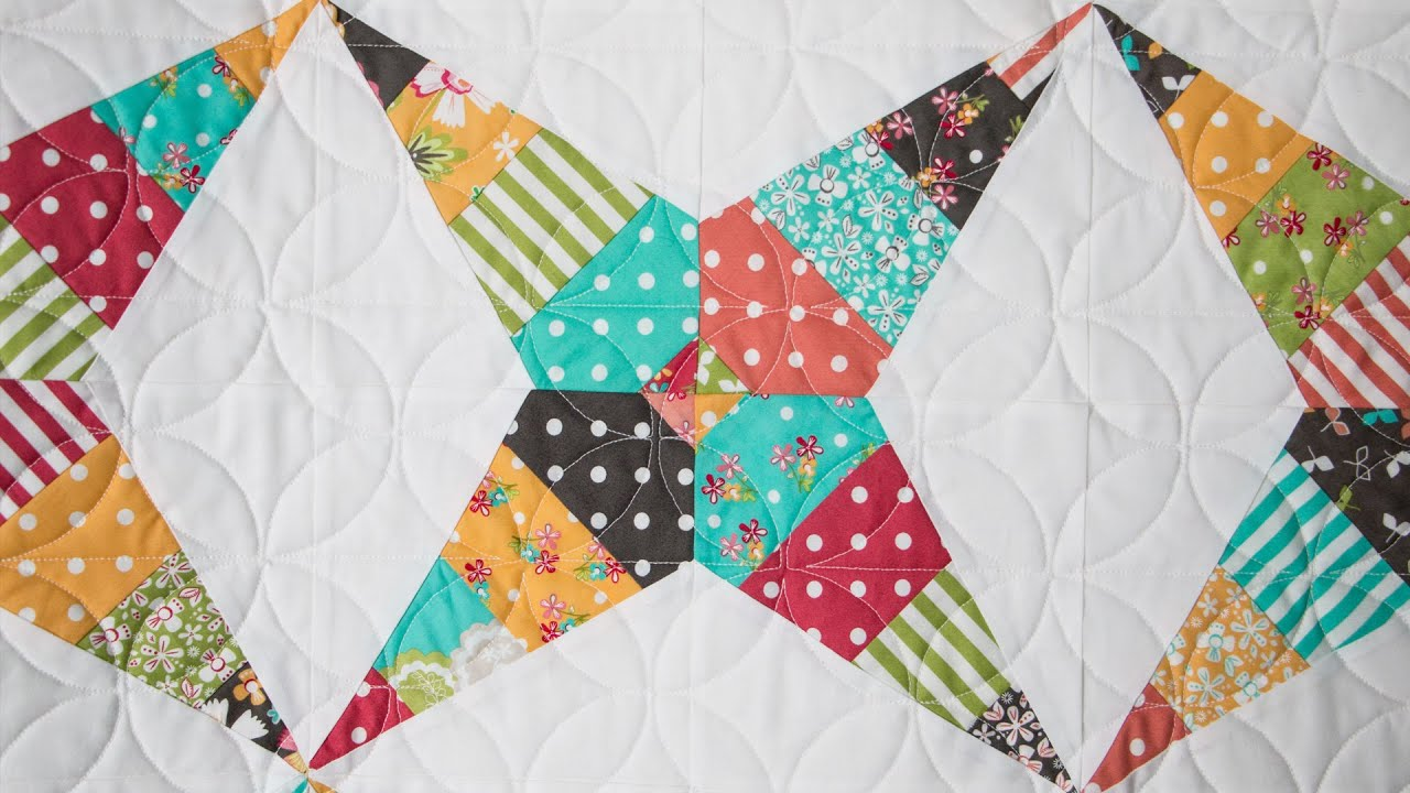 Firecracker Quilt Block Pattern Fat Quarter Shop Youtube