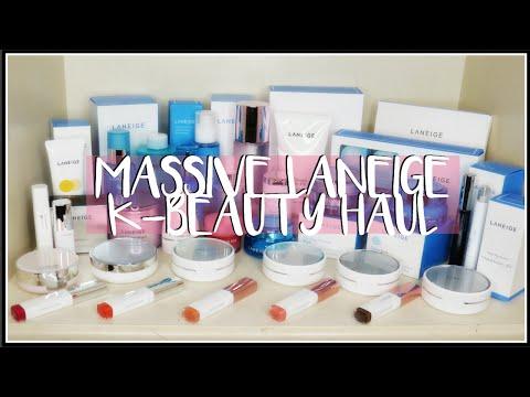 MASSIVE BEAUTY HAUL! Laneige Korean Skincare & Makeup + Asia Beauty