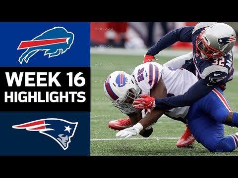 Bills vs. Patriots | NFL Week 16 Game Highlights