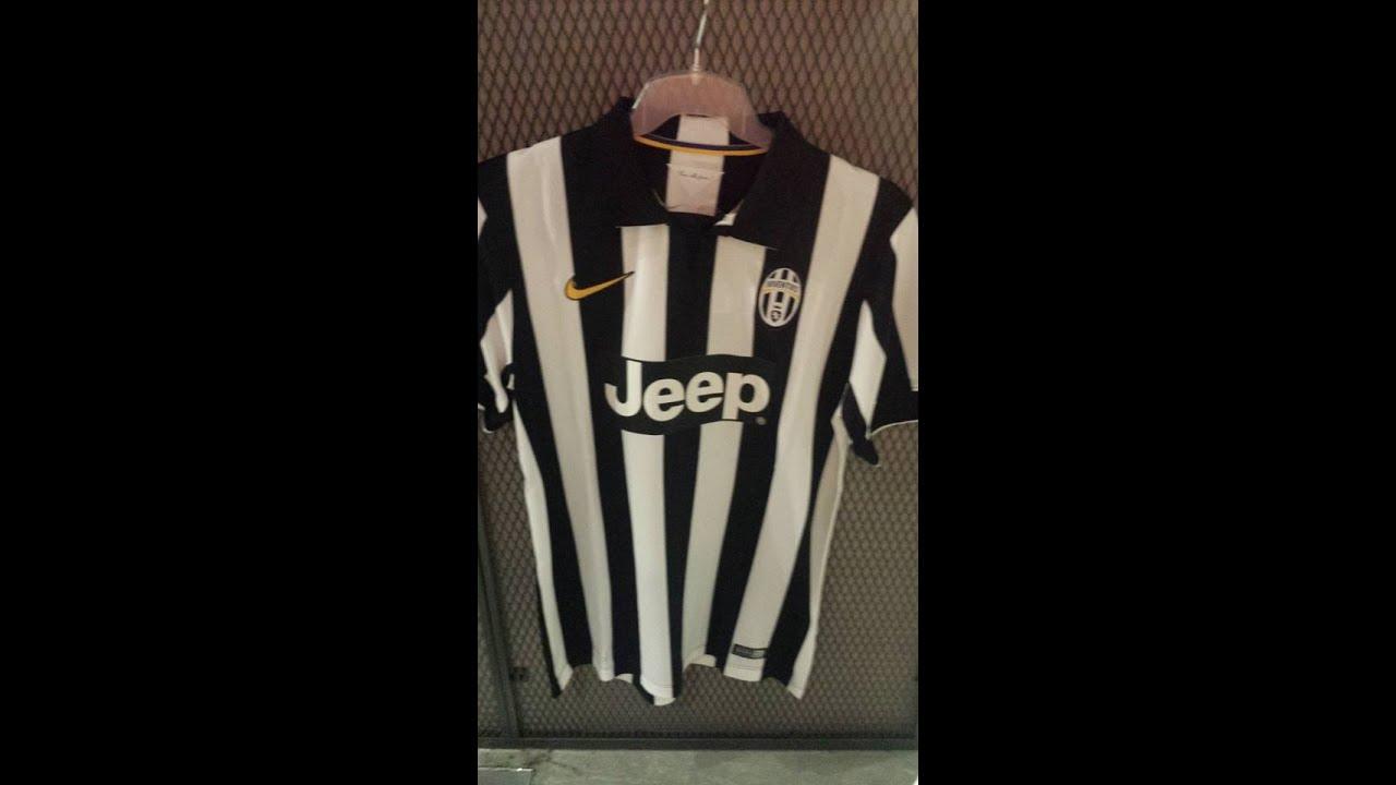 b3b877733ce 20150613 NIKE JUVENTUS 2014-15 Men Home Soccer Jersey Shirt 611077 ...