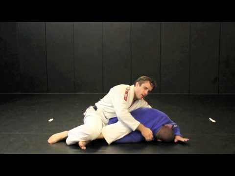 Brazilian Jiu Jitsu In NJBJJ Black Belt Open Guard To Omoplata and Triangle Setup