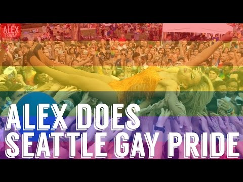 Alex Does Seattle Gay Pride