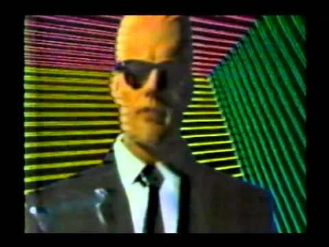 The story behind 'MAX HEADROOM' Rare 1986 TV Spot. - YouTube