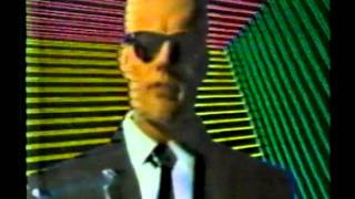 The story behind 'MAX HEADROOM' Rare 1986 TV Spot.
