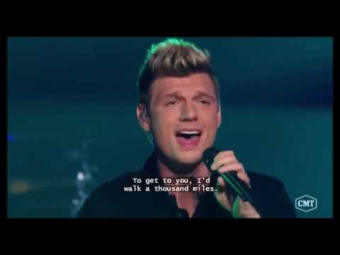 Backstreet Boys & FGL - All I Have to Give (Live CMT Crossroad)