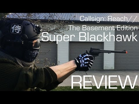 Super Black Hawk Review // Callsign: Reach (The Basement Edition)