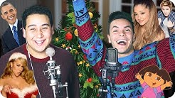 """Mariah Carey - """"All I Want for Christmas Is You"""" Impersonation Challenge COVER (Live One-Take)"""