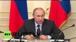 "Russia: ""Have you gone crazy?"" - Putin slams ministers for train chaos"