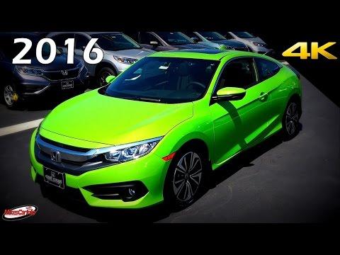 2016 Honda Civic EX-L Coupe - Ultimate In-Depth Look in 4K