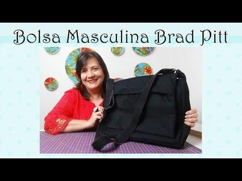 Bolsa  Masculina Brad Pitt