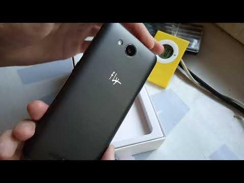 Анбоксинг Смартфона Fly Life Compact 4g