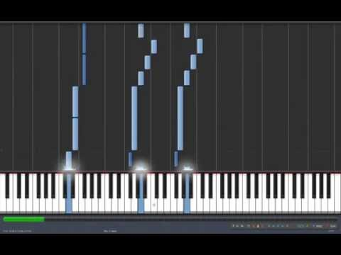 Transformers: Prime Main Theme on Synthesia (Piano)