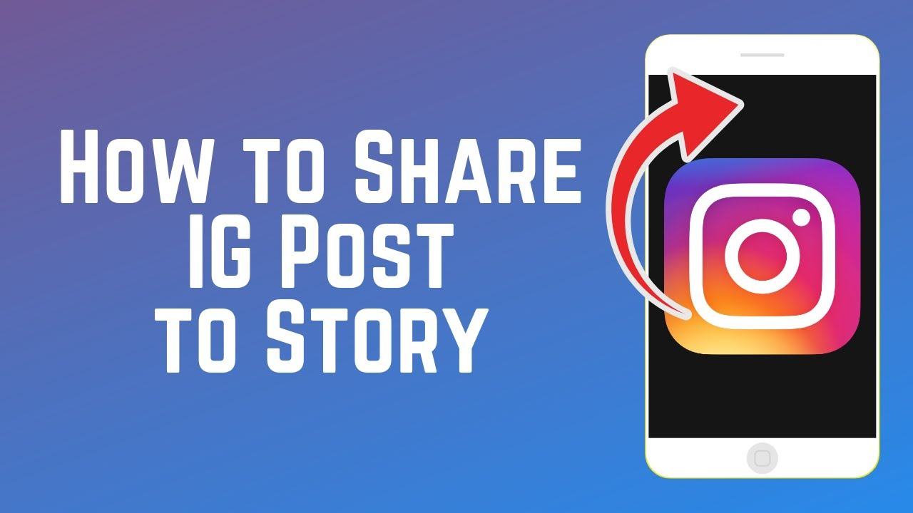 How do you share posts to your story on instagram