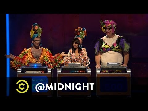 Chris Hardwick @midnight - Yahoo! Answers - Paranormal Edition (Comedy Central)