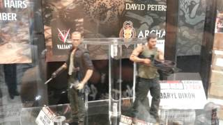 McFarlane Toys The Walking Dead Series 4 Figures & Dixon Brothers 2-Pack SDCC Comic Con 2013