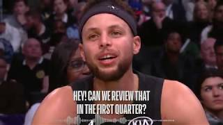 Best Wired Moments oḟ the 2018 NBA All Star Game! LeBron, Steph, Kemba and More!