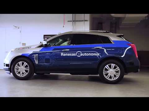 Renesas ADAS Development Cadillac Driving Demonstration