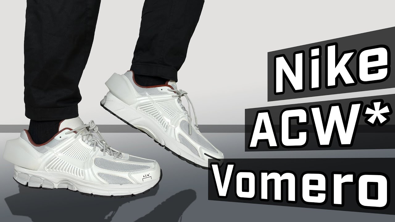4aaef464b09e HEEL BLOCK - Nike x A Cold Wall Vomero 5 Review + On Feet - YouTube