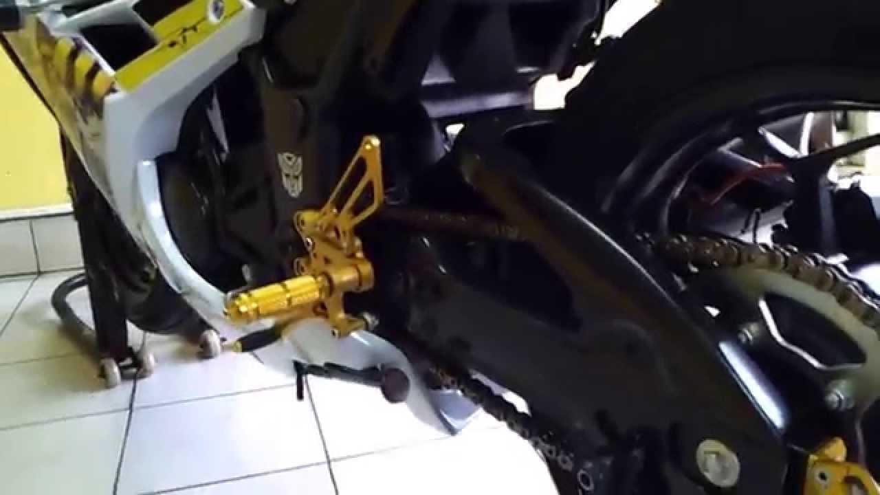 My Kawasaki Ninja 250 2013 Indonesia Updated Youtube Zeneos Zn 62 120 70 17