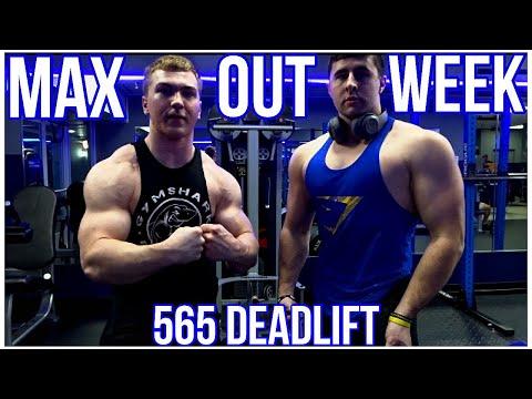 Max Out Week W/ The Squad | 565 DEADLIFT PR | Teen Workout Motivation