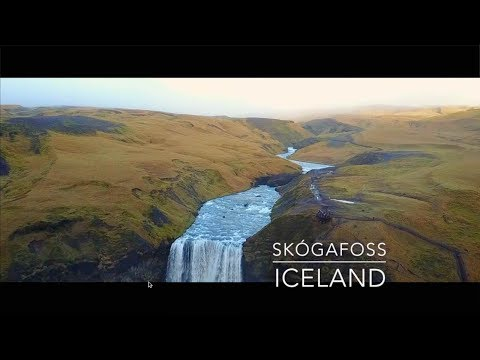 Mavic Pro over Skógafoss, Iceland