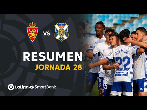 Zaragoza Tenerife Goals And Highlights