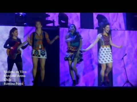 Veo Veo Violetta En Vivo - Chile