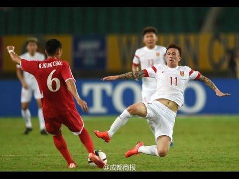 HIGHLIGHTS 中国 2:0 朝鲜 社会主义德比 于大宝破门 China 2:0 N.Korea | 东亚杯 20150805 中国●武汉