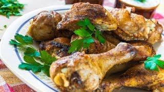 Жареные куриные ножки на сковороде