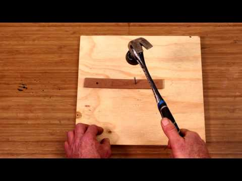 How To Mark A Circle On Wood - D.I.Y. At Bunnings