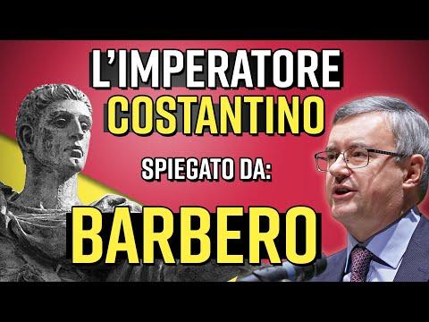 Alessandro Barbero 'L'imperatore Costantino'
