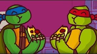 ЧЕРЕПАШКИ НИНДЗЯ Последний Кусочек - игра Nickelodeon Teenage Mutant Ninja Turtles The Final Slice