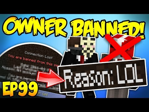MINECRAFT HACKER BANS ME FROM MY OWN SERVER