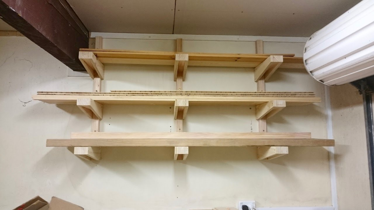 Small Lumber Rack Youtube