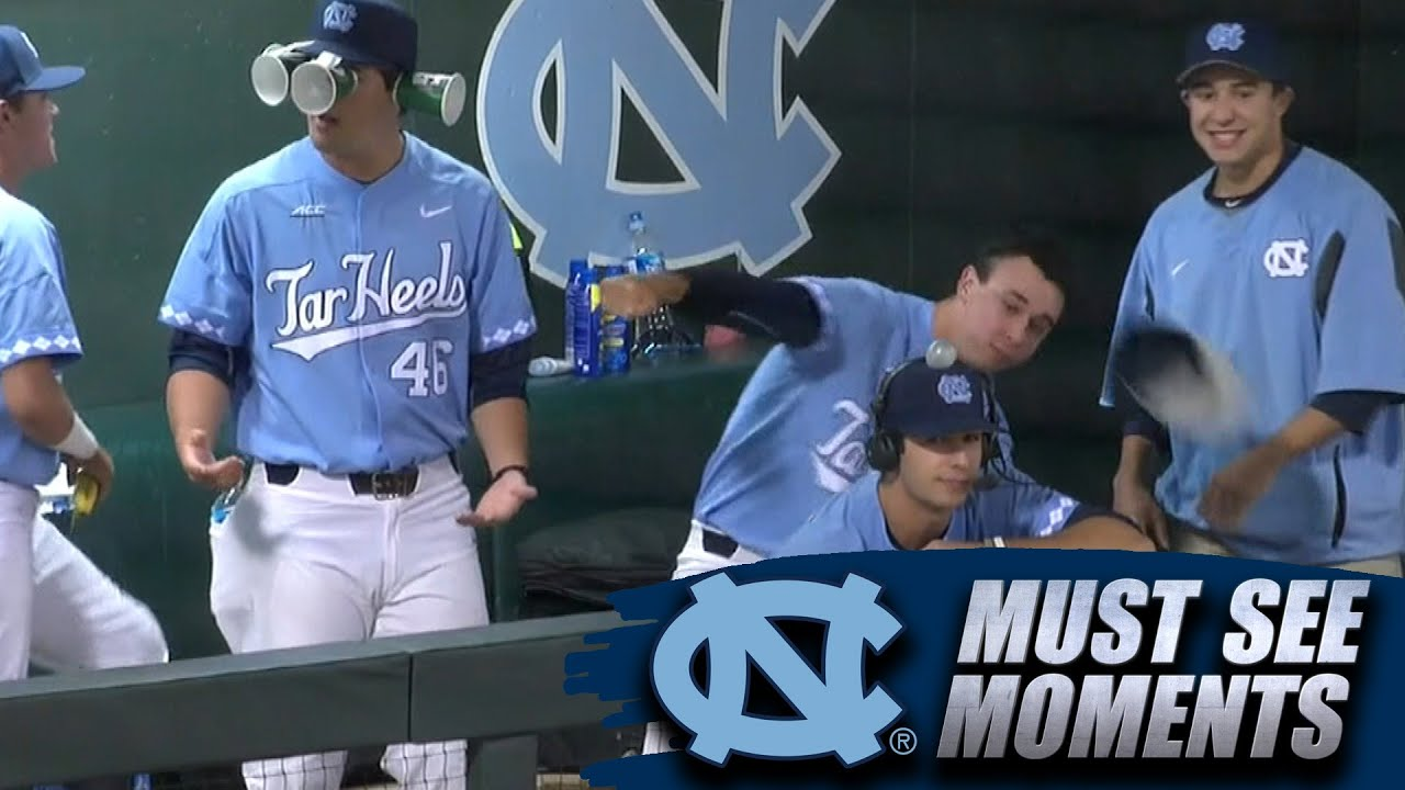 UNC Baseball Videobombs Hilarious In Game Interview