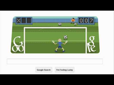 London 2012 Football (Soccer) Google Doodle