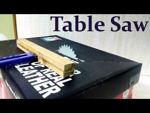 How To Make A Table Saw At Home - Easy Way