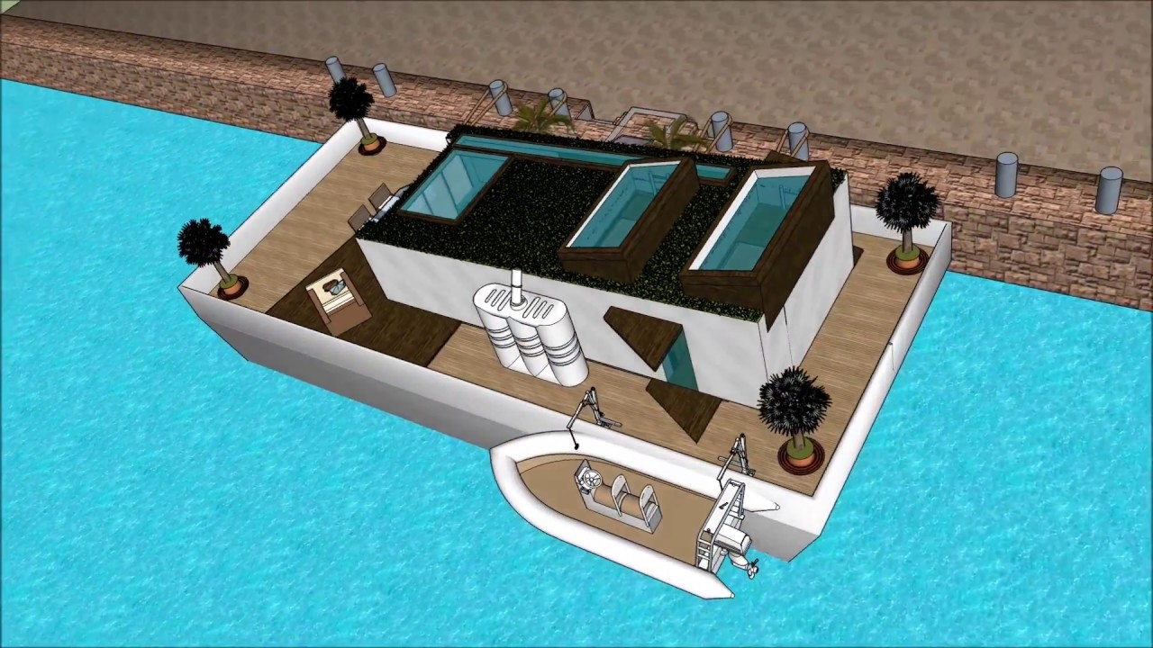 Homemade Tiny Houseboat Blog Design Tiny Little Houseboats