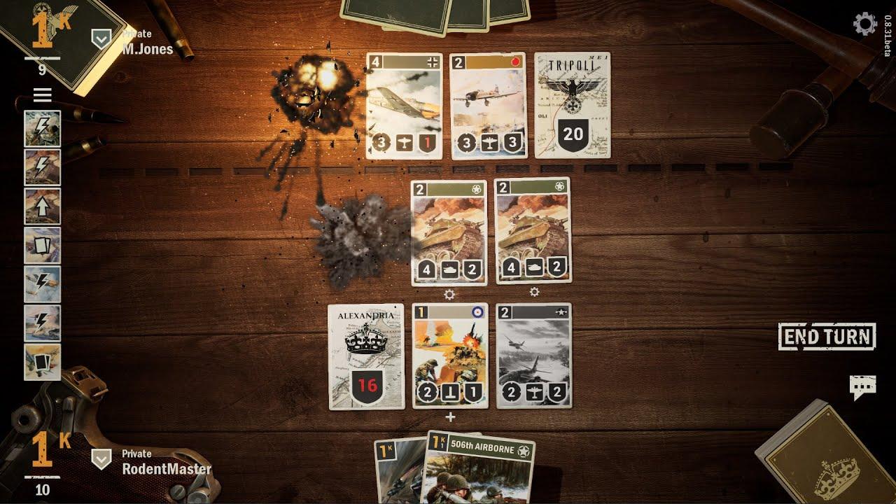 Jogo de cartas da Segunda Guerra GRÁTIS! Conheça KARDS