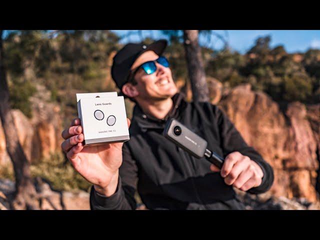 TEST protections de lentilles pour Insta360 One X2 - Mon avis