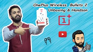 OnePlus Wireless Bulllets 2 Black color Unboxing and Handson..!