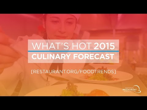 Whats Hot 2015 Culinary Forecast